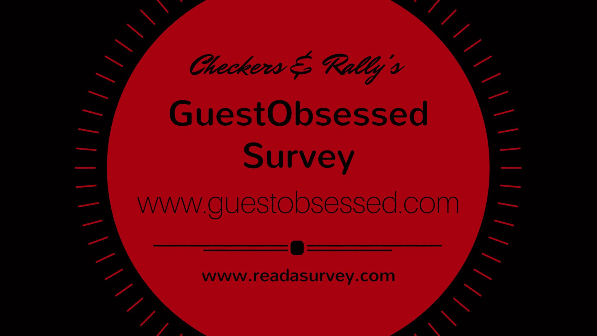 checkers and rallys guestobsessed survey
