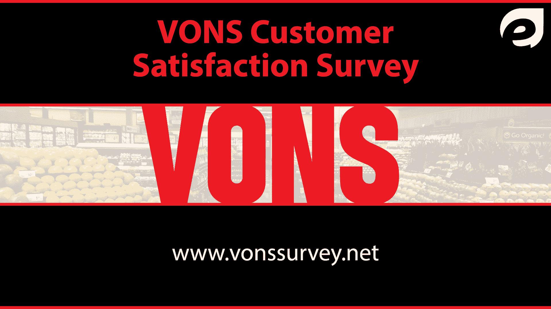 vons survey