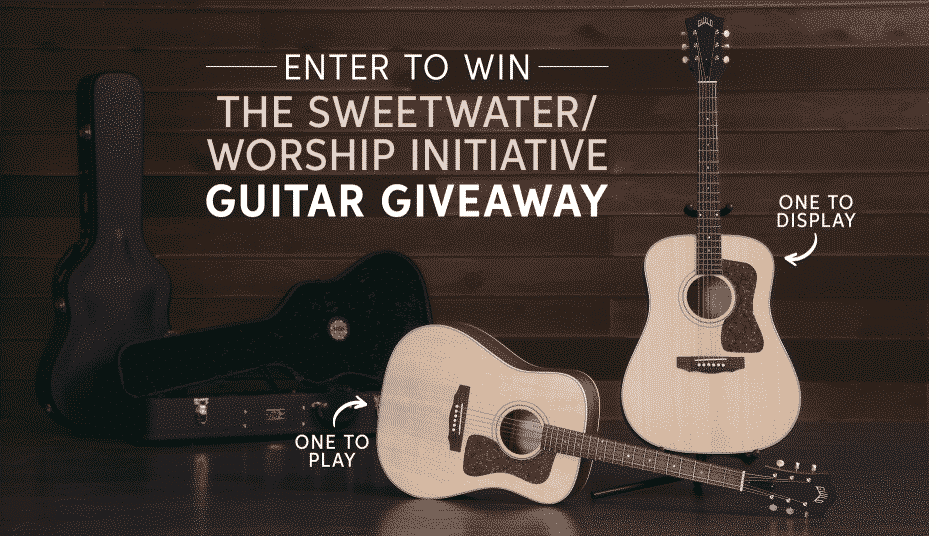Sweetwater giveaways- Guitar giveaway