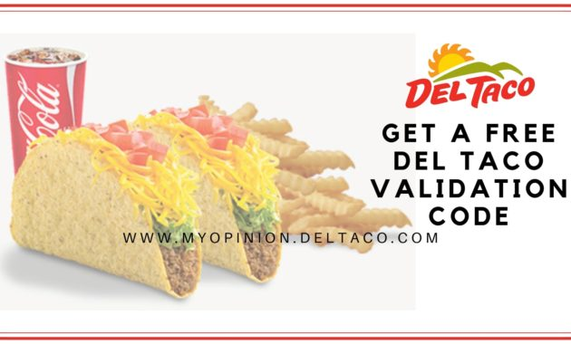 del taco survey- myopinion survey