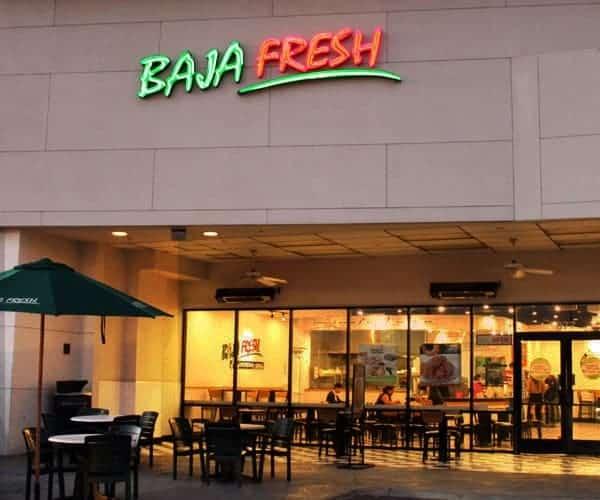 baja fresh survey -baja fresh