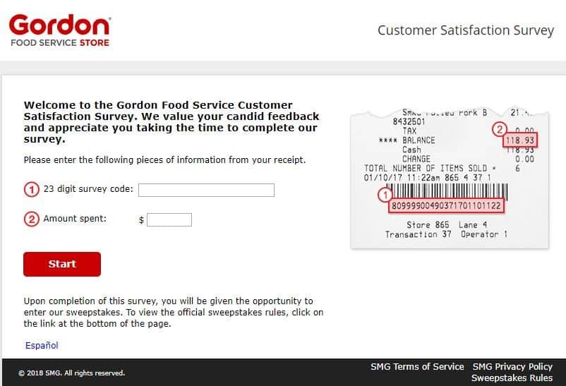 Gfsstore.com/survey guide- gfs store survey