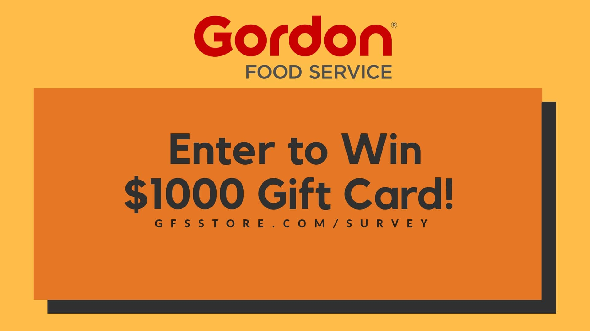gfs store survey sweepstakes
