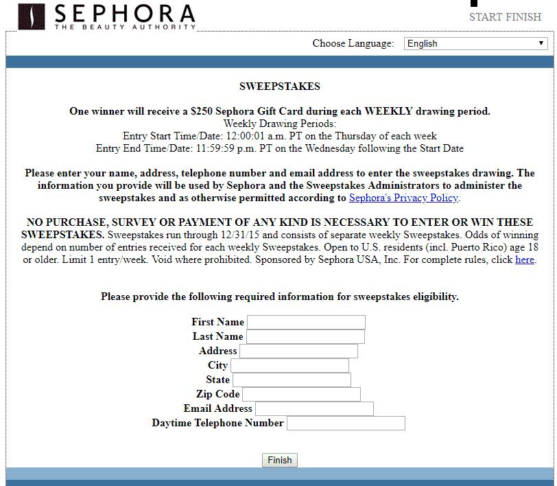 Sephora survey- Survey.medallia.com/sephora/usa