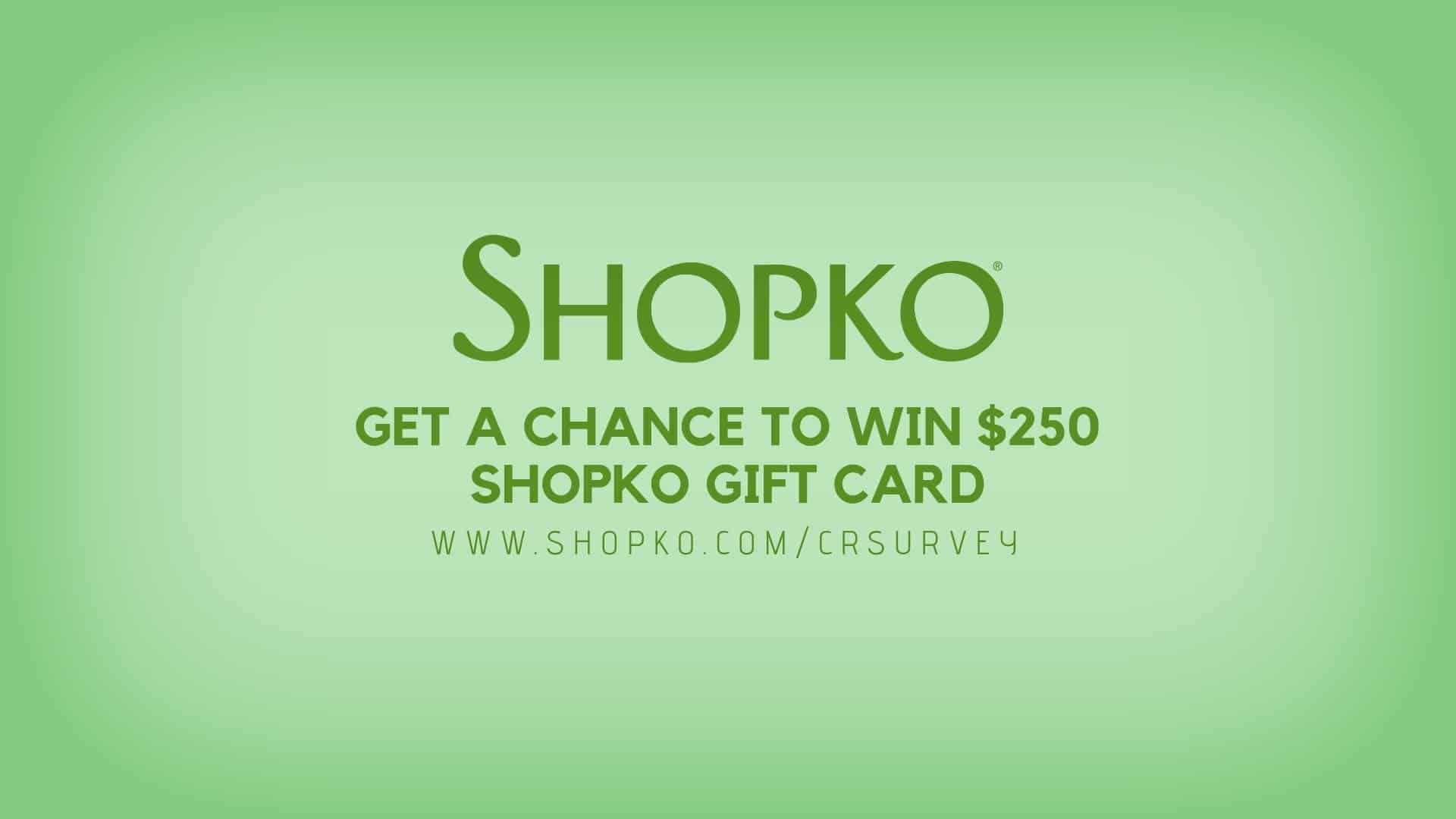 www.shopko.com/survey