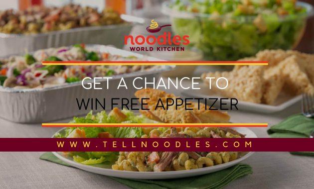 tellnoodles appetizer