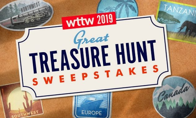 WTTW Great Treasure Hunt Sweepstakes 2019