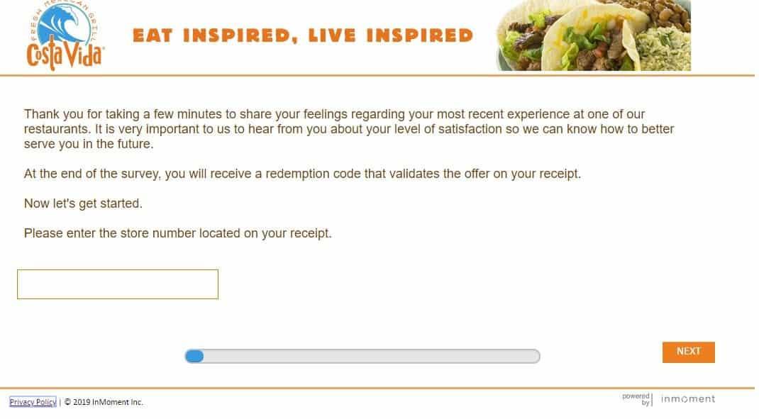 costavida.com/survey